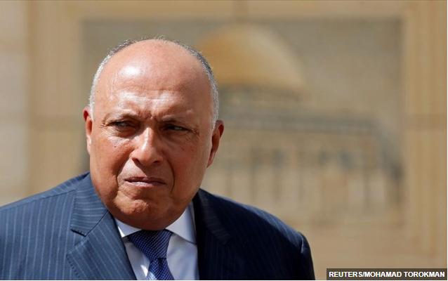 Αίγυπτος: Επικοινωνία Σούκρι με τον ιρακινό ομόλογό του για την τουρκική επίθεση