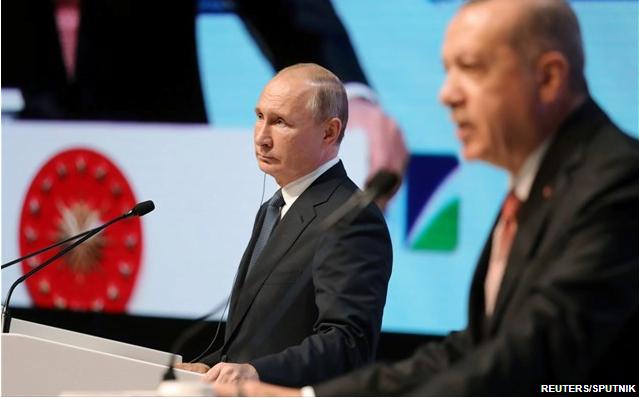 Ρωσία – Τουρκία: Τηλεφωνική επικοινωνία Πούτιν-Ερντογάν για συγκρούσεις σε Λιβύη και Συρία