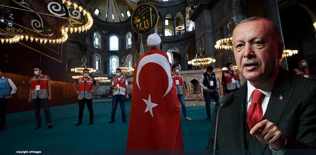 Σφέτας: Πώς ο Ερντογάν εργαλειοποιεί τους Οθωμανούς και μετατρέπει την Αγία Σοφία σε νέα Μέκκα