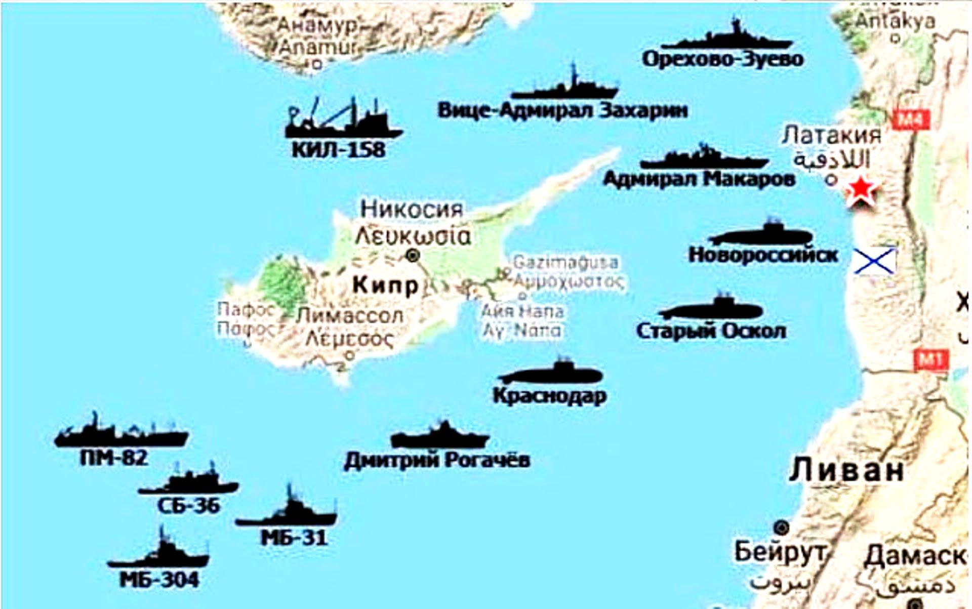 Ανησυχία Τουρκίας για ενέργειες της Ρωσίας σε Κύπρο και Συρία
