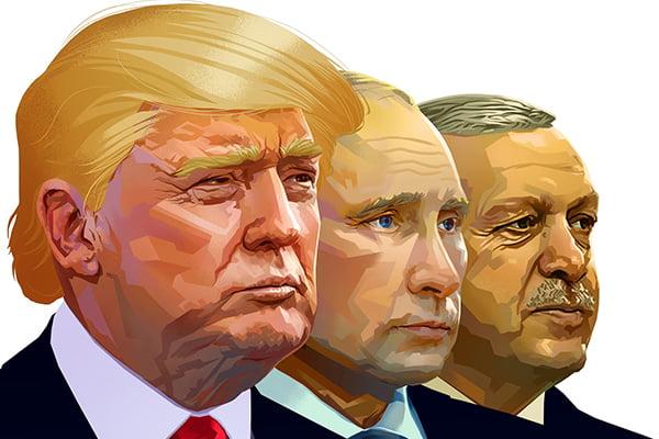 """Τι """"χαρτιά"""" έχει στα χέρια του ο Πούτιν και έχει μετατρέψει σε μαριονέτα του τον Ερντογάν;"""