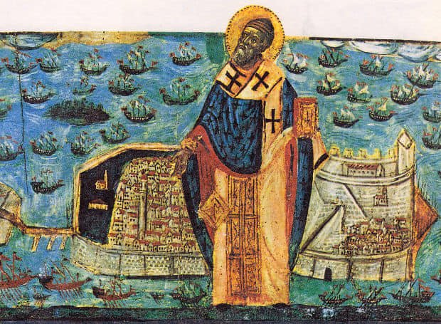 """Η καταστροφή του τουρκικού στόλου στην Κέρκυρα που συνδέθηκε με """"παρέμβαση"""" του Αγίου Σπυρίδωνα"""
