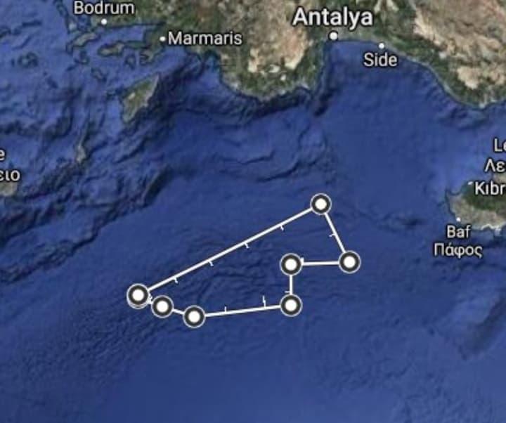 Αυτή είναι η NAVTEX της Τουρκίας – Αγγίζει οριοθετημένη περιοχή ανατολικά της Καρπάθου (χάρτης)