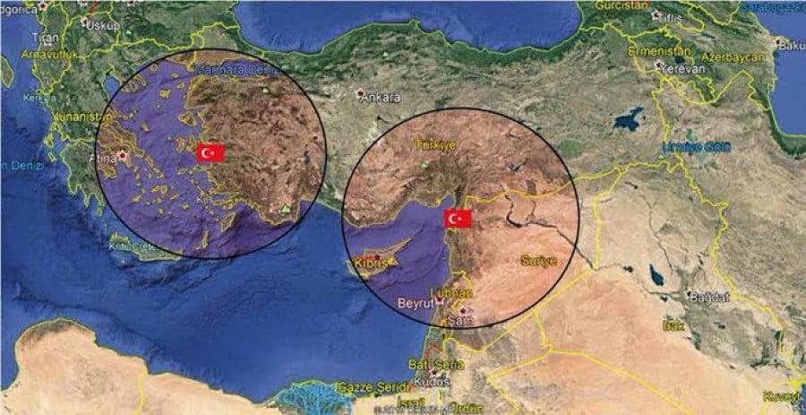 Σκληρά μέτρα στην Ελλάδα, ανακήρυξη ΑΟΖ στην Ανατολική Μεσόγειο και S-400 εισηγούνται 4 τούρκοι στρατιωτικοί