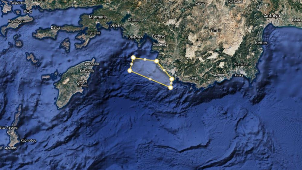 Με νέα παράνομη NAVTEX για ασκήσεις μεταξύ Ρόδου και Καστελόριζου απαντά η Τουρκία στη συμφωνία ΑΟΖ Ελλάδας-Τουρκίας