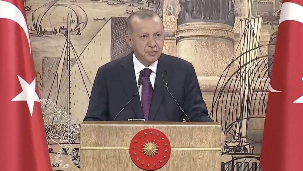 Ερντογάν: H Τουρκία ανακάλυψε 320 δισ. κυβικά μέτρα φυσικού αερίου στη Μαύρη Θάλασσα