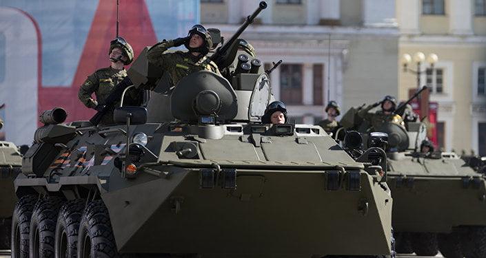 Αυτή είναι η πρώτη φωτογραφία του νέου τεθωρακισμένου BTR-82AT της Ρωσίας