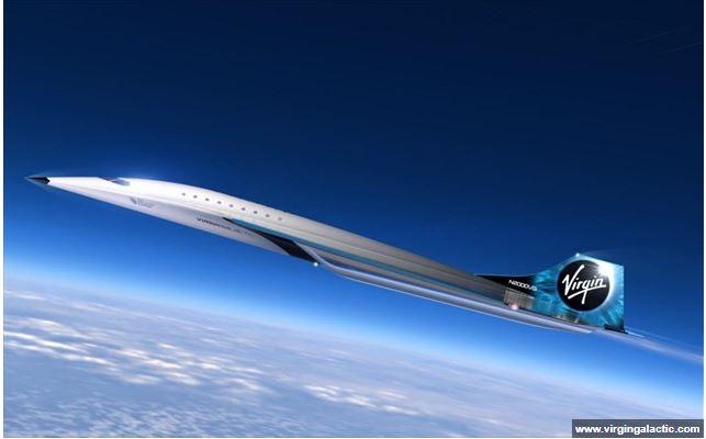 Επιβατηγό αεροσκάφος με ταχύτητα τριπλάσια του ήχου σχεδιάζει η Virgin Galactic