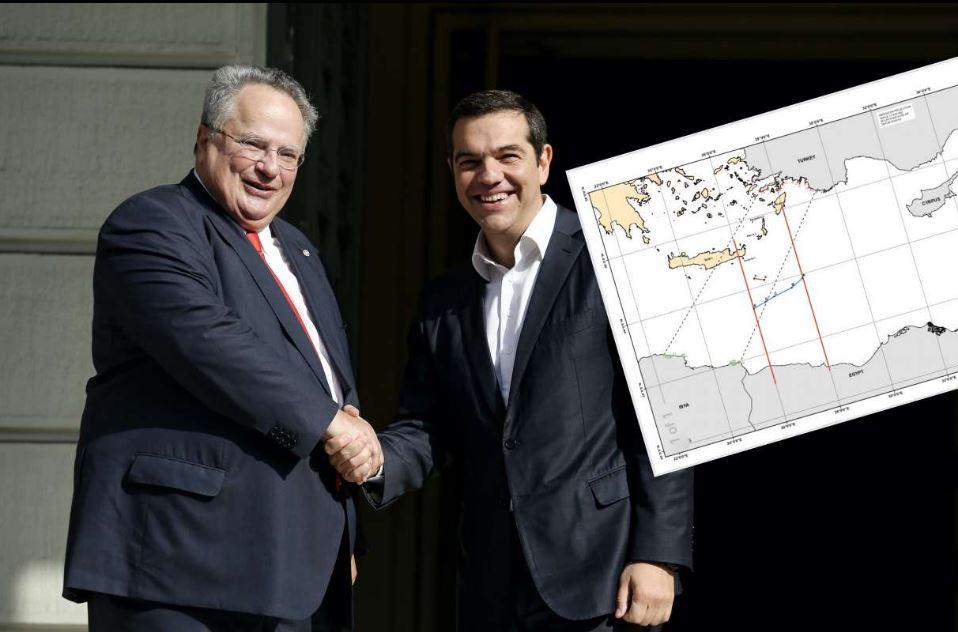 Δεν υπάρχει άλλο τέτοιο κράτος στον κόσμο!!! Είχε συμφωνήσει ο Κοτζιάς να κόβεται στη μέση η Ρόδος στη συμφωνία με την Αίγυπτο;