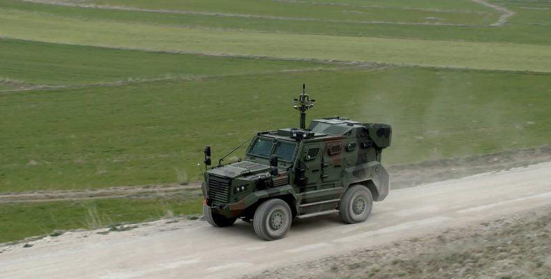 Η Τουρκία εξάγει το θωρακισμένο όχημα Hizir… στην Αφρική