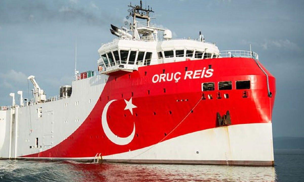 Νέα τουρκική πρόκληση – Η Άγκυρα στέλνει το Oruc Reis για έρευνες προς το Καστελόριζο έως τις 20 Σεπτεμβρίου – Δείτε τη NAVTEX