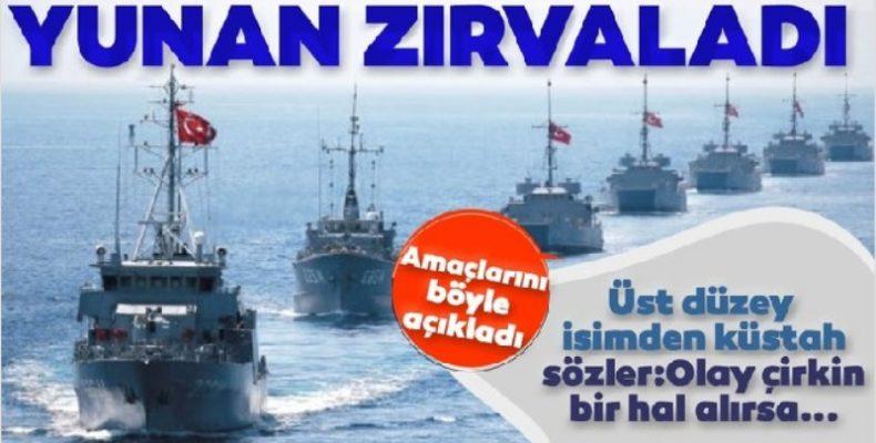 Τουρκική SABAH: Θρασύς & αυθάδης ο Έλληνας ΣΕΑ αντιναύαρχος Αλ. Διακόπουλος!