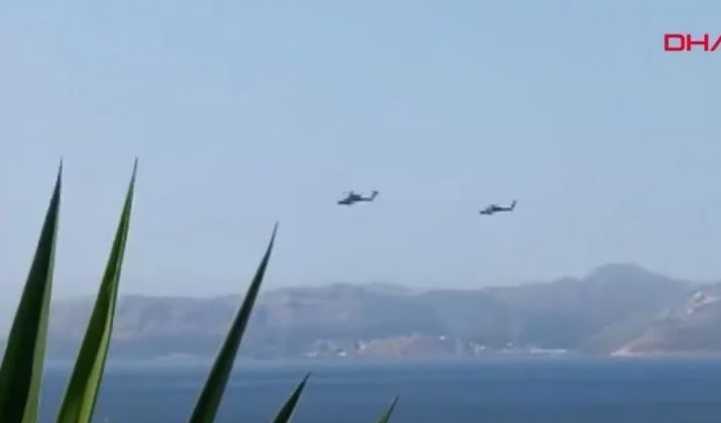 Πήρε φωτιά η «μονταζιέρα» της Άγκυρας: Βίντεο με περιπολίες τουρκικών ελικοπτέρων – Διαψεύδονται τα περί παρενόχλησης ελληνικού ελικοπτέρου (ΒΙΝΤΕΟ)