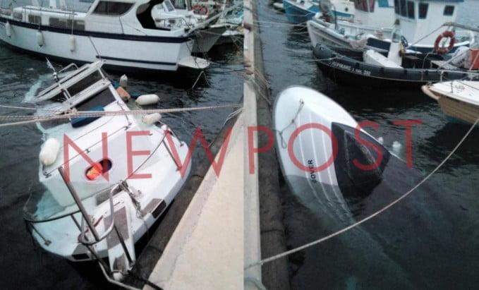 Μετανάστες έφτασαν μέχρι το λιμάνι της Καλύμνου με βάρκες – Τις βούλιαξαν και βγήκαν στη στεριά