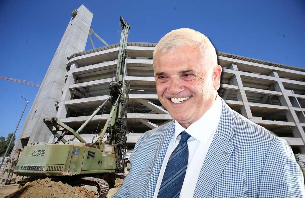 Αντικείμενο μελέτης από γαλλική εταιρεία το γήπεδο της ΑΕΚ που κατασκευάζει η Ερμώνασσα