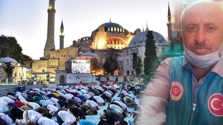 Πέθανε από ανακοπή καρδιάς μέσα στην Αγιά Σοφιά ο μουεζίνης Οσμάν Ασλάν!