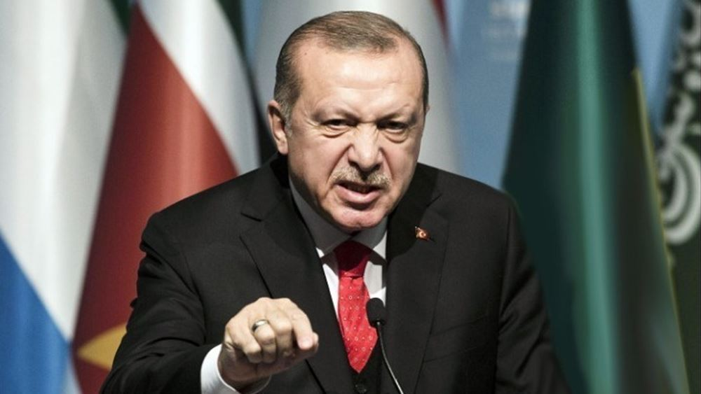 Εμπρηστικός Ερντογάν: Θα συνεχίσουμε να εφαρμόζουμε τα σχέδιά μας – Δεν θα μας εγκλωβίσουν στις ακτές μας
