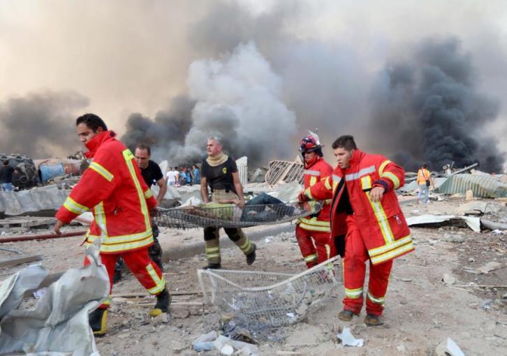 Εικόνες αποκάλυψης στη Βηρυτό: Πάνω από 100 οι νεκροί, βιβλικές καταστροφές