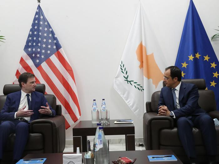Yποστήριξη ΗΠΑ στα κυριαρχικά δικαιώματα της Κύπρου