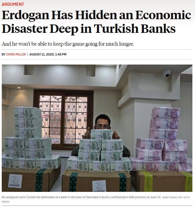 Foreign Policy: Το κόλπο του Ερντογάν με τις τράπεζες για να κρύψει την οικονομική καταστροφή