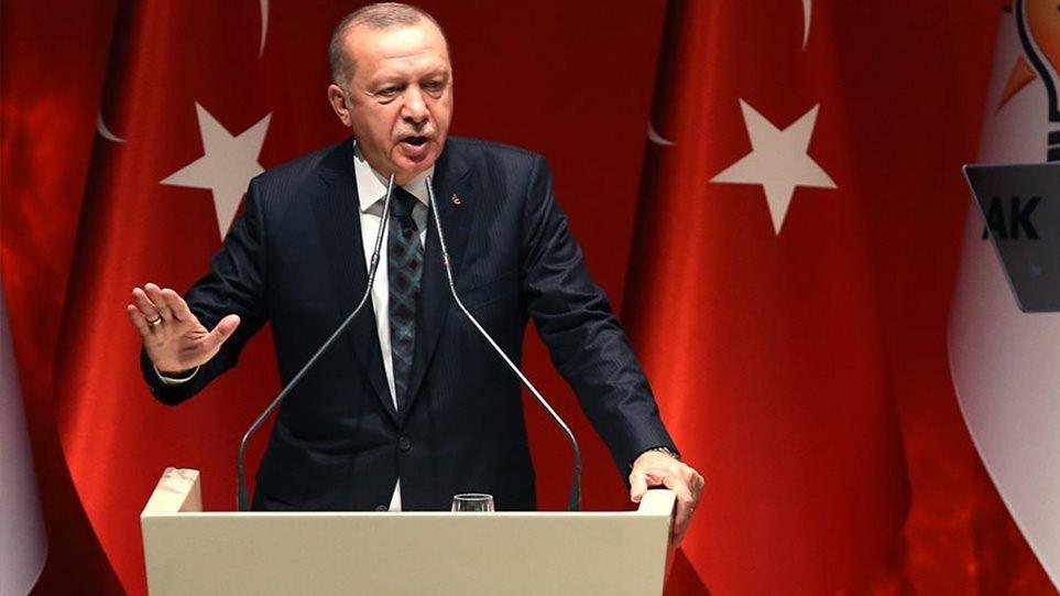 Παραλήρημα Ερντογάν: Προκαλούμε τους εχθρούς μας σε ξηρά, αέρα και θάλασσα