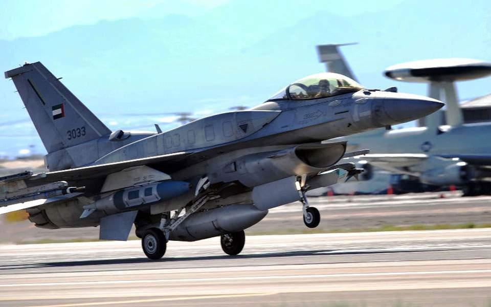Συνεκπαίδευση της ΠΑ με F-16 από τα ΗΑΕ
