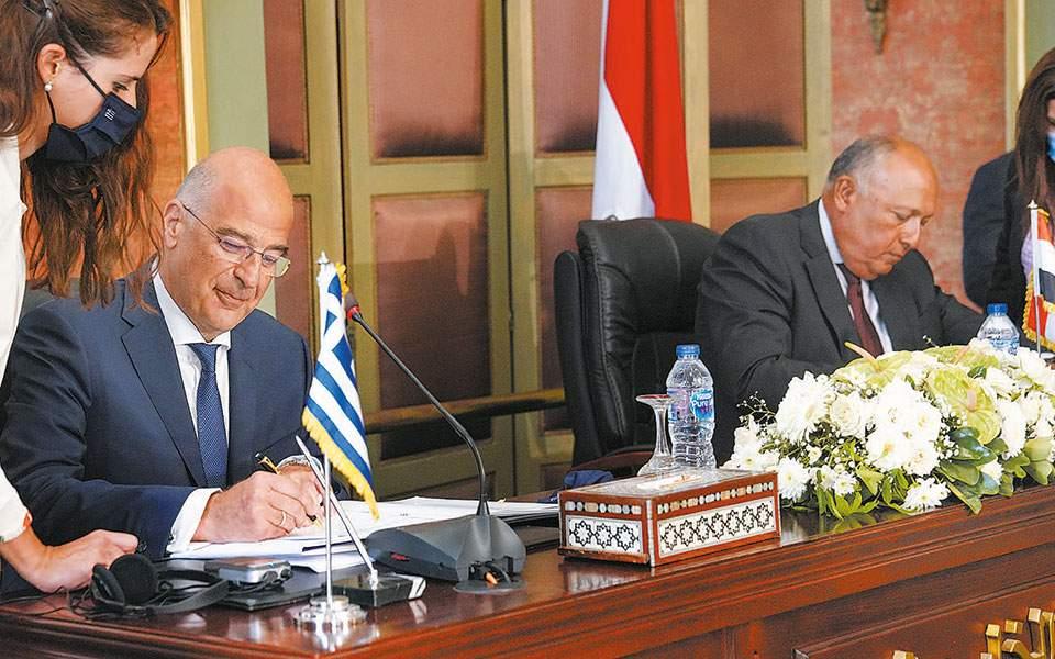 Πρώτα πυρά από τον ΣΥΡΙΖΑ για τη συμφωνία Ελλάδας-Αιγύπτου