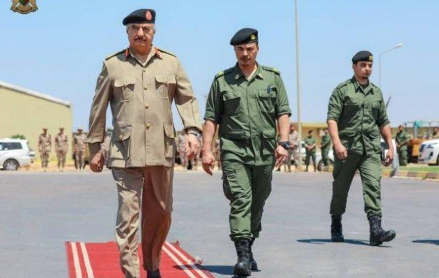 Λιβύη: Ο Χαφτάρ ορκίστηκε να διώξει τους Τούρκους από τη χώρα (ΒΙΝΤΕΟ)