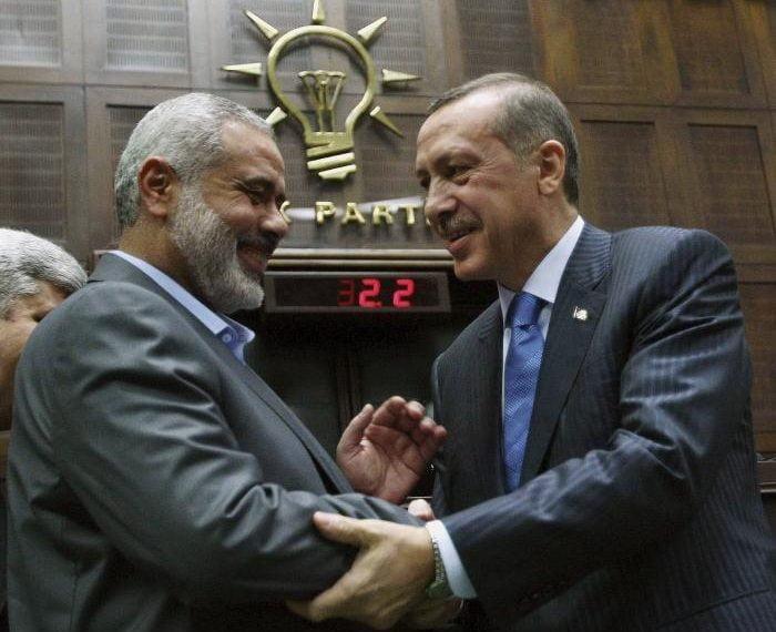 Ανοίγει τους ασκούς του Αιόλου η Άγκυρα-Με εντολή Ερντογάν η Χαμάς ξεκινάει παραστρατιωτικές επιχειρήσεις εναντίον του Ισραήλ