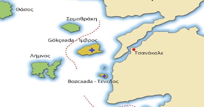 Δόλιος τουρκικός συγκριτισμός Ίμβρου-Τενέδου με Καστελόριζο ενόψει Χάγης…