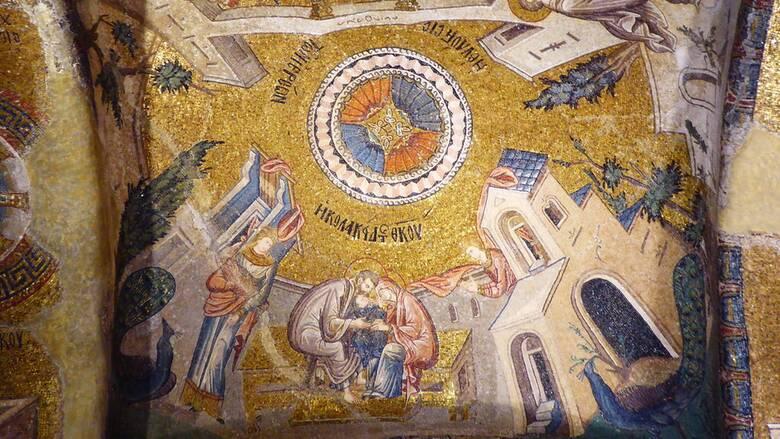 Η   νεο-οθωμανική Τουρκία υβρίζει τους ελληνικούς  ορθόδοξους χριστιανικούς ναούς αδύναμη να κατανοήσει το περιεχόμενό τους