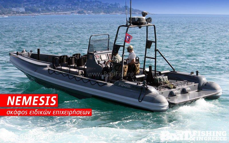 Τα ελληνικά ταχύπλοα NEMESIS υπό τον LNA στη Λιβύη