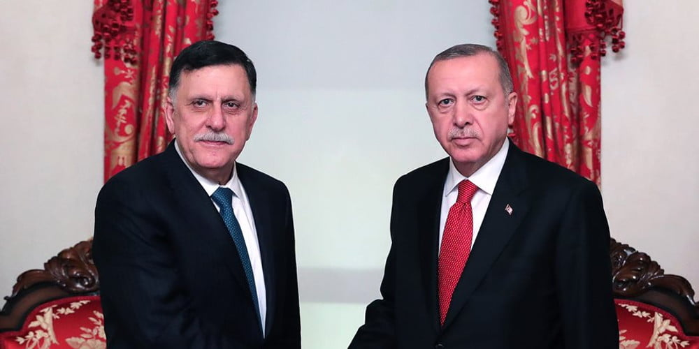 Φτάνει πια με τον ερντογανικό Σαρατζ στη Λιβύη! Ένας ψευδο-λίβυος τελείως άχρηστος για την Ελλάδα!