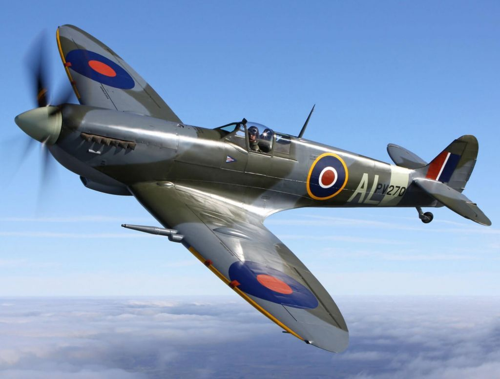 Το μαχητικό Spitfire έρχεται στους ελληνικούς αιθέρες