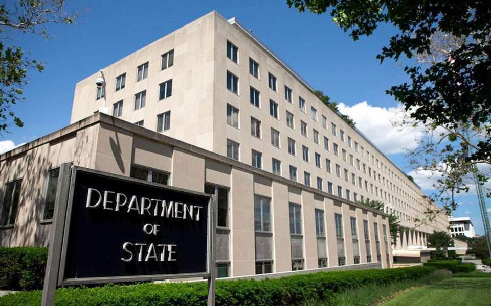 Στέιτ Ντιπάρτμεντ: Ανησυχία για τις επαφές Ερντογάν με τη Χαμάς