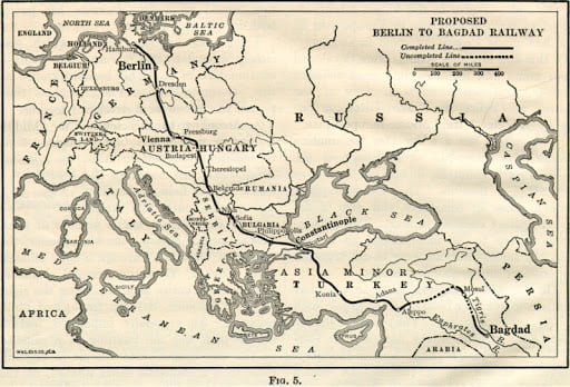 Σχεδιασμοί Γερμανικού Ιμπεριαλισμού & ΝΑ Ευρώπη τον 19ο αιώνα