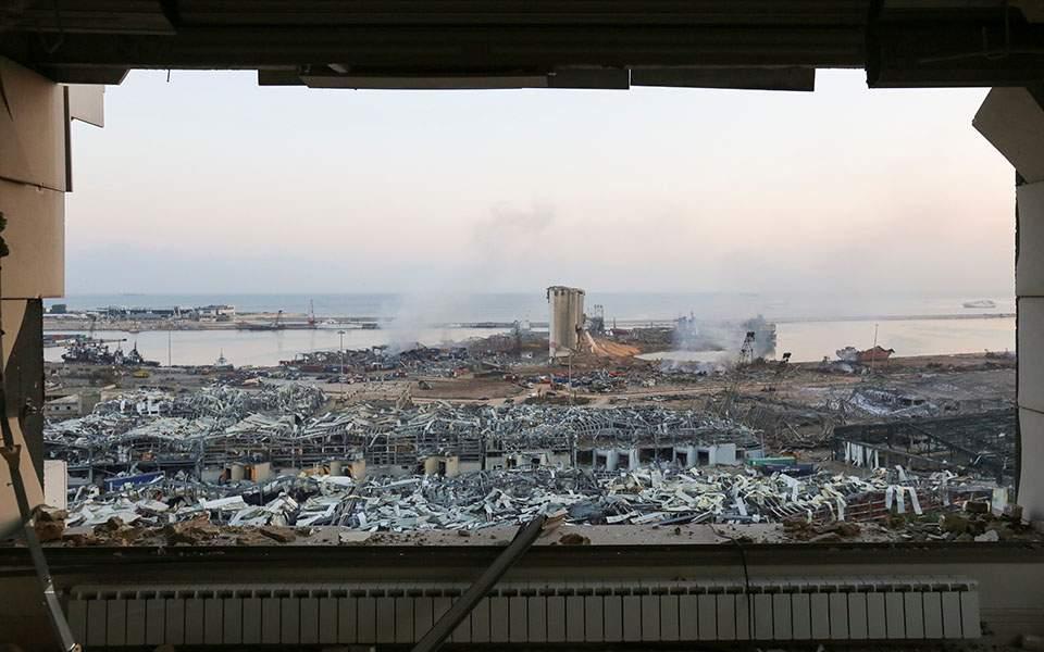 Έκρηξη στη Βηρυτό: Επλήγη πολεμικό πλοίο της δύναμης του ΟΗΕ στον Λίβανο