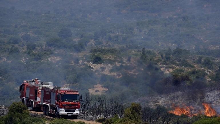 Κάηκε δασική έκταση σε πεδίο βολής στους Ασβεστάδες Έβρου! Πληροφορίες ότι τη φωτιά έβαλαν μετανάστες που πέρασαν τα σύνορα
