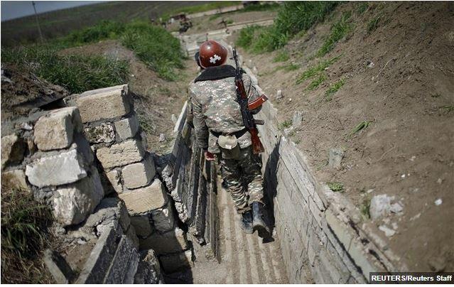 Οι Αρμένιοι του Αρτσάχ δηλώνουν 16 στρατιώτες νεκρούς και 100 τραυματίες