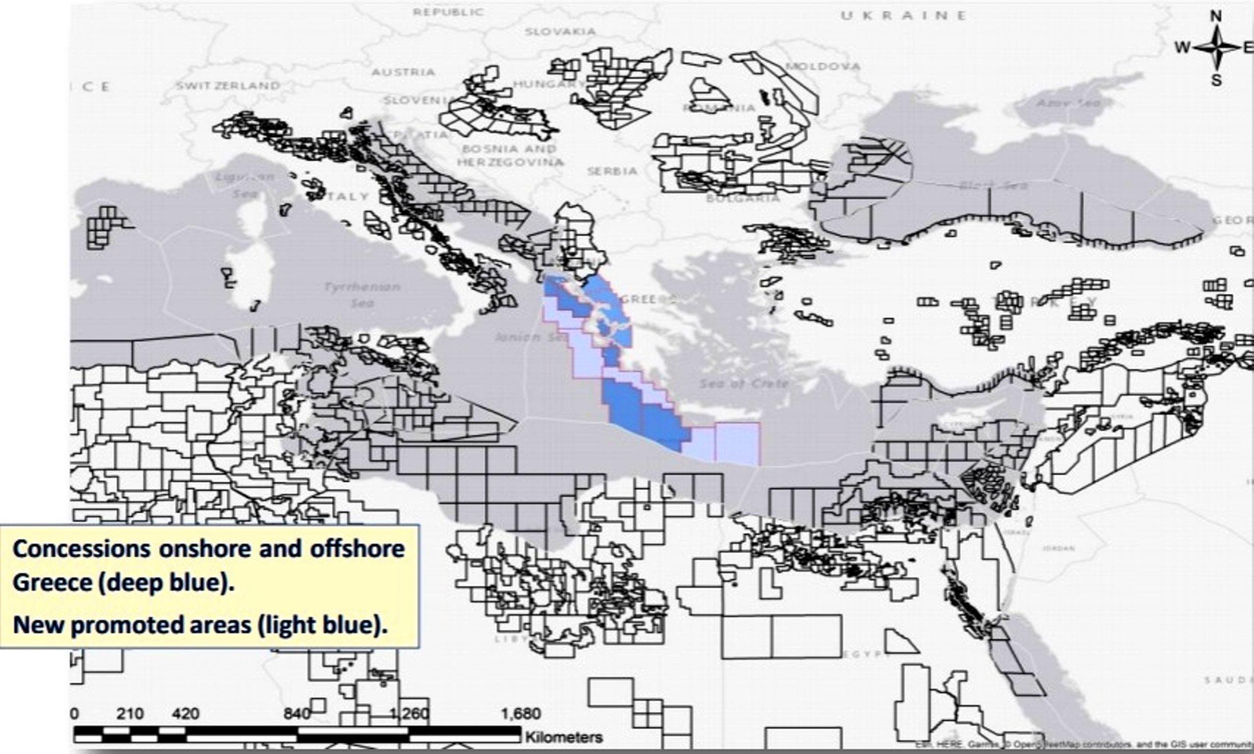 Ο Ενεργειακός Χάρτης της Ανατολικής Μεσογείου – Η Ελληνική Διάσταση