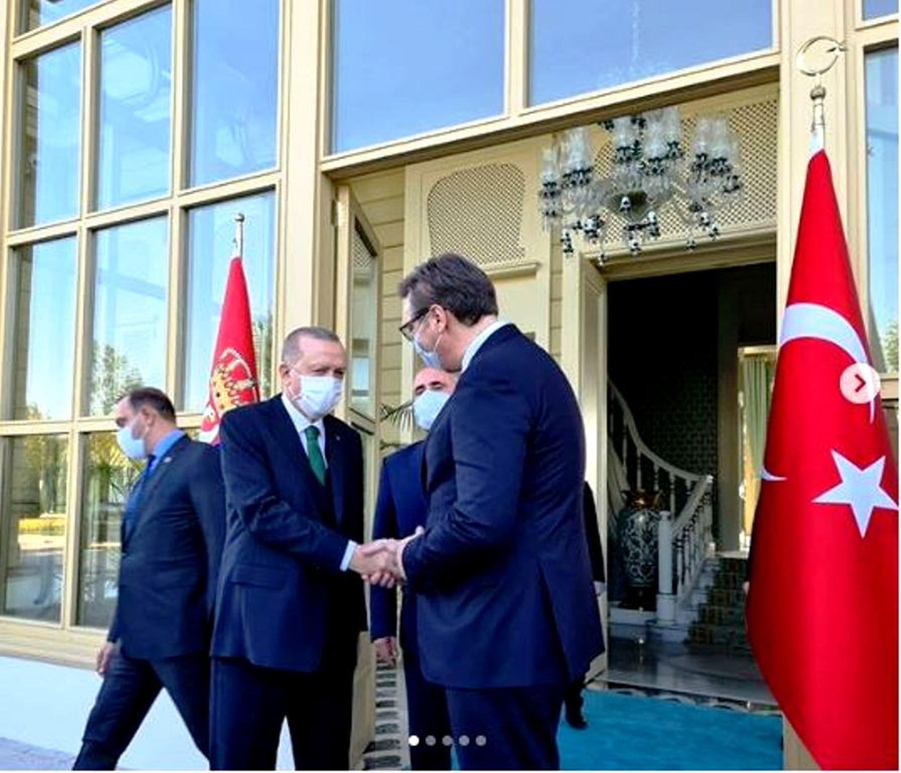 Πρόεδρος Σερβίας στη συνάντηση με Ερντογάν: Οι Έλληνες είναι φίλοι μας, αλλά εμείς έχουμε τα δικά μας συμφέροντα