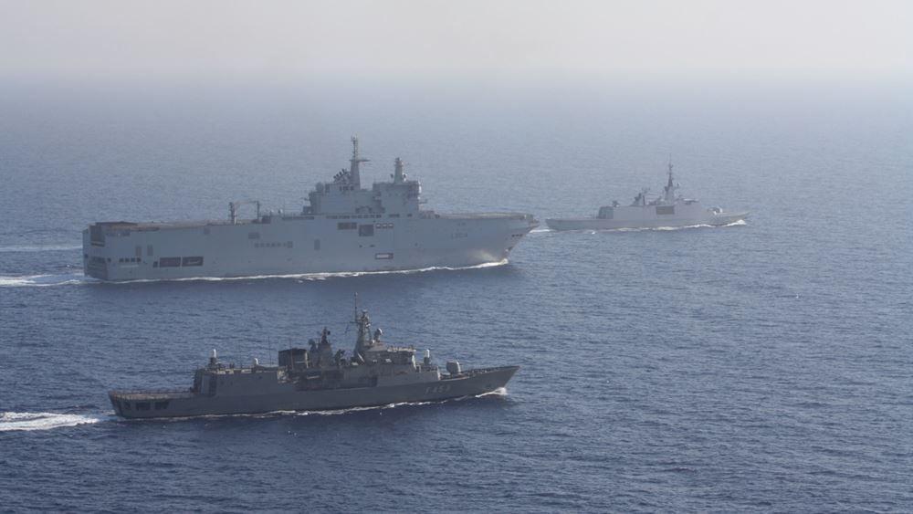 Η Ελλάδα ενισχύει την άμυνά της εν μέσω κρίσης στην Αν. Μεσόγειο