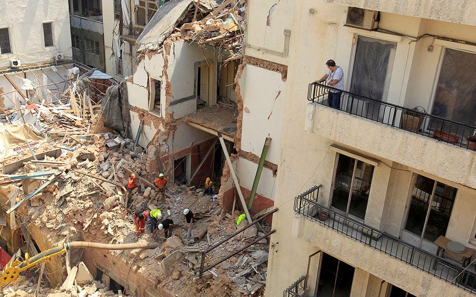 Βηρυτός: Ενδείξεις ζωής κάτω από τα ερείπια ένα μήνα μετά τη φονική έκρηξη