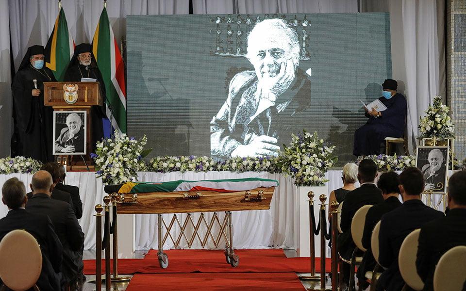 ΝΟΤΙΑ ΑΦΡΙΚΗ: Το τελευταίο αντίο στον «υπερασπιστή των καταπιεσμένων» Γιώργο Μπίζο