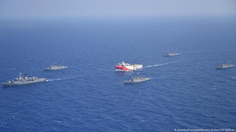 Financial Times: «Ποιο είναι το διακύβευμα στην κρίση της Ανατολικής Μεσογείου»
