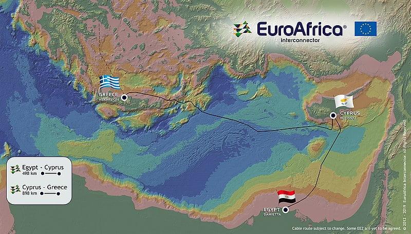 Διακρατική συμφωνία για EuroAsia Interconnector