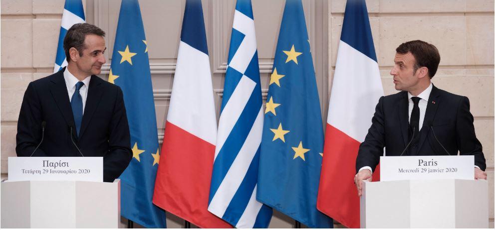 Μητσοτάκης – Μακρόν υπογράφουν στο Παρίσι διευρυμένη αμυντική συμφωνία