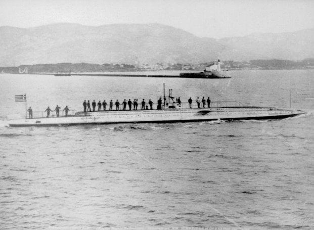 Το πρώτο υποβρύχιο του ελληνικού στόλου!