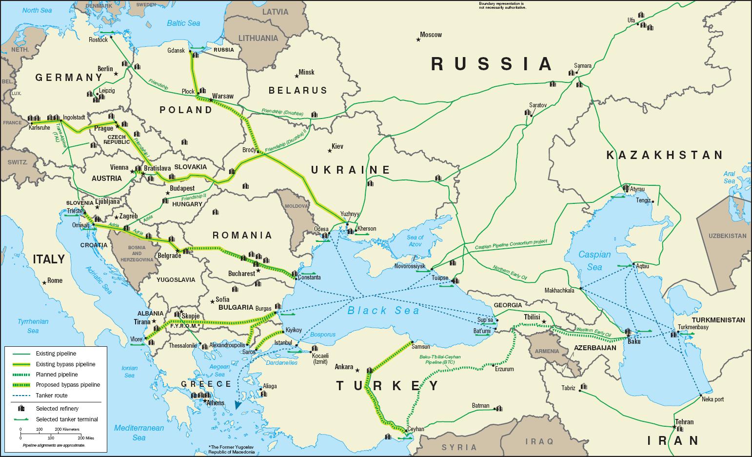 Λουκασένκο μεταξύ Ανατολής και Δύσης και ο αγωγός Druzhba
