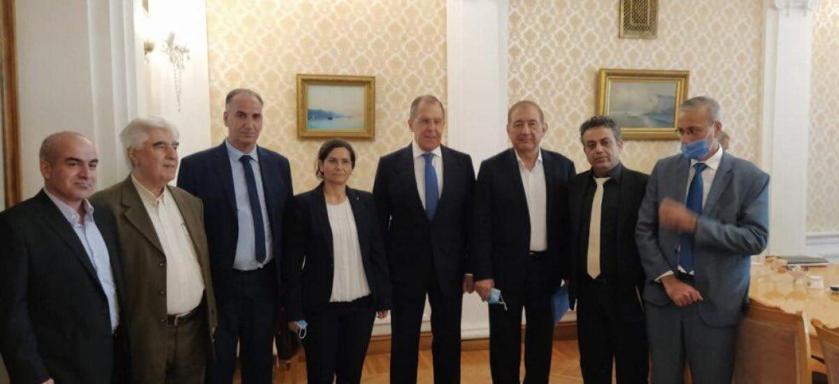 Άτσαλο χτύπημα της Ρωσίας στην Τουρκία! Ο Λαβρόφ συναντήθηκε με τους Κούρδους της Ροζάβα